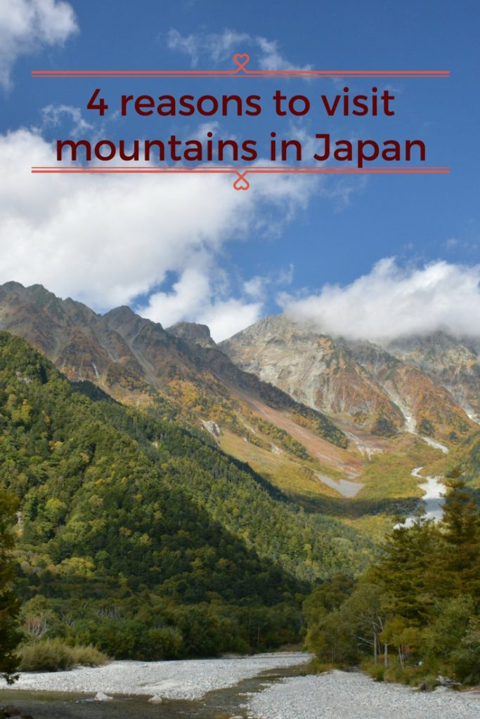 4 reasons to visit mountains in Japan