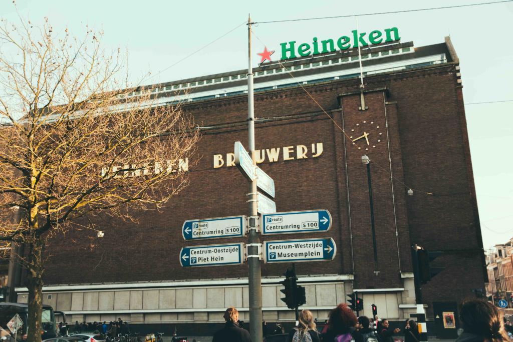 Heineken Experience in Amsterdam