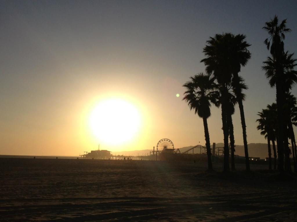 Saluting the Californian Sun