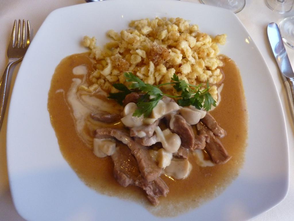 Geschnetzeltes - European Cuisine