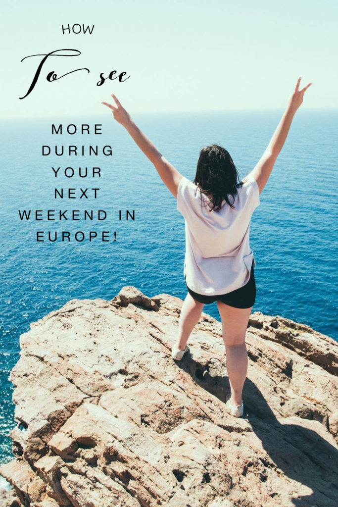 how to travel in europe