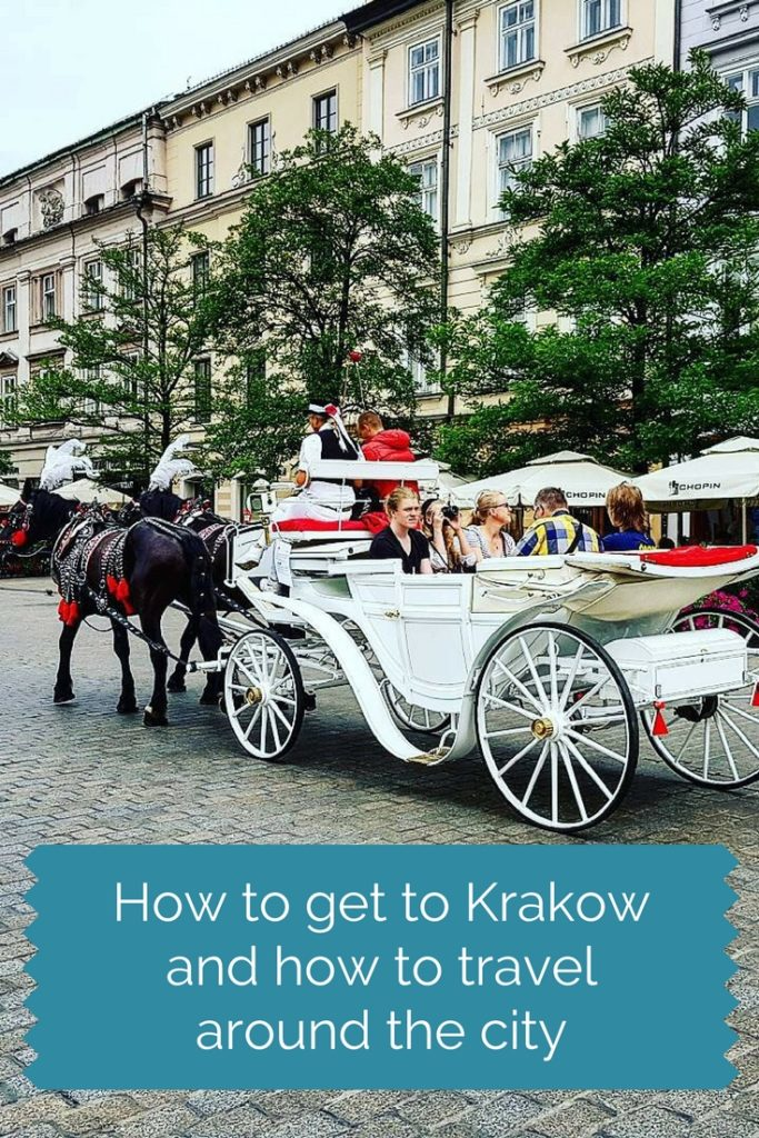 How to get to Krakow and how travel around city