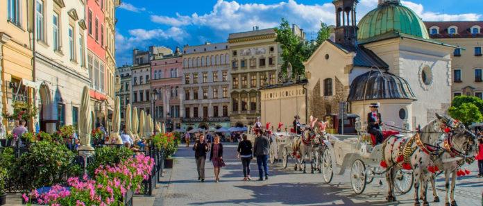 travelling to Krakow